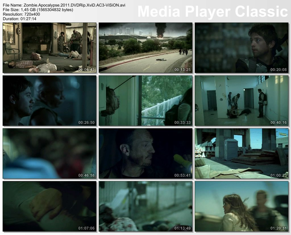 Zombie Apocalypse - 2011 DVDRip XviD AC3 - Trke Altyazl indir