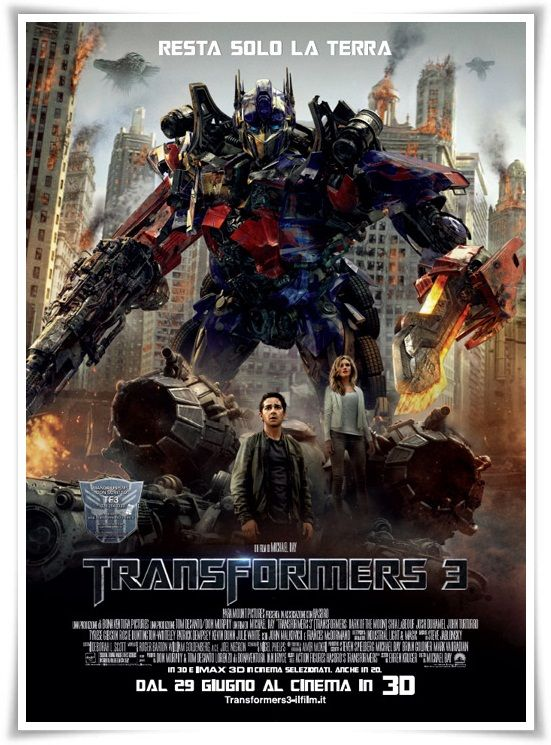 Download Transformers 3 2011 iTALiAN AC3 BRRip XviD-TSR[gogt] Torrent