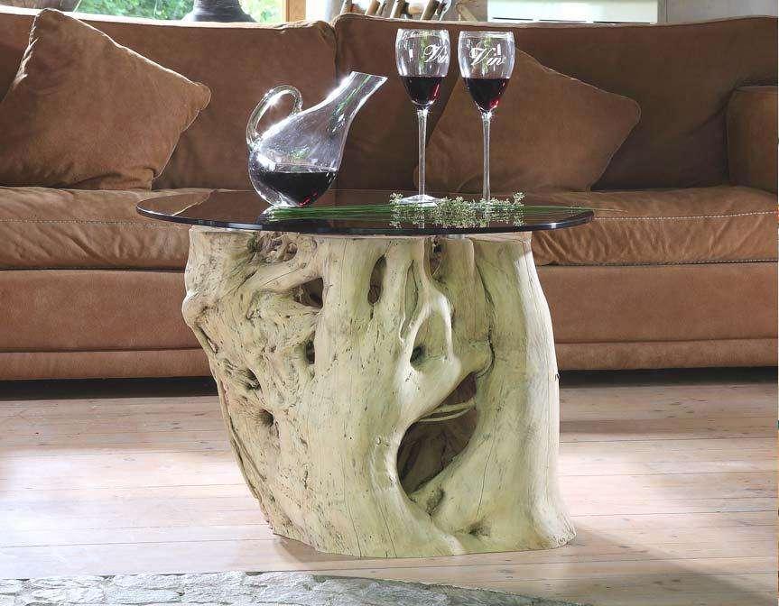 100 vollholz couchtisch wohnzimmertisch tisch massiv altholz baumstamm ebay. Black Bedroom Furniture Sets. Home Design Ideas