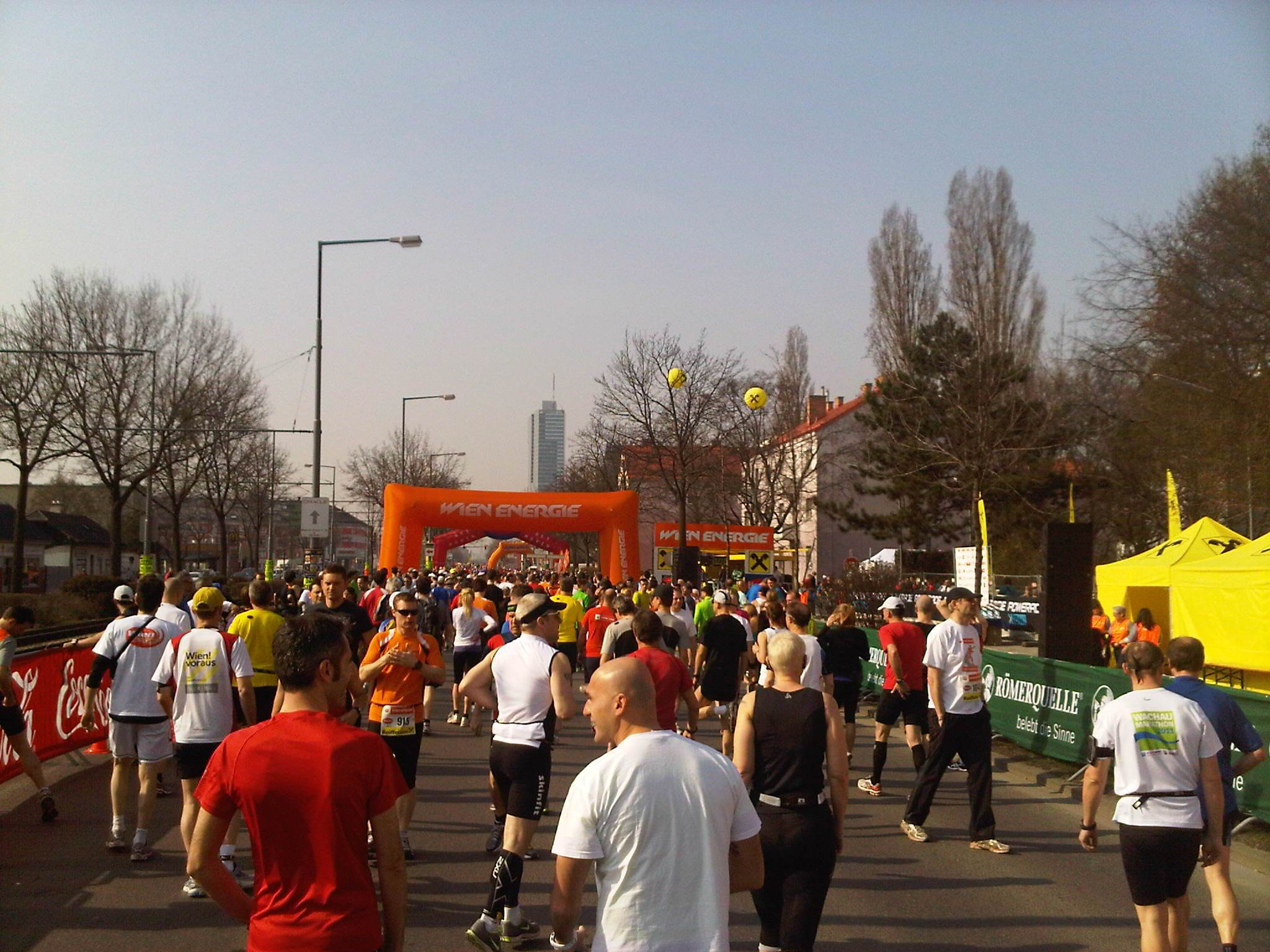 Wien Energy halbmarathon – before start