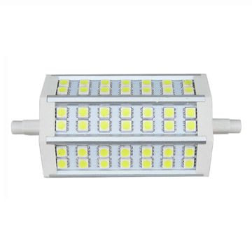 Lampadina lineare tipo alogena rl r7s10 118mm led 10 watt for Alogena lineare led