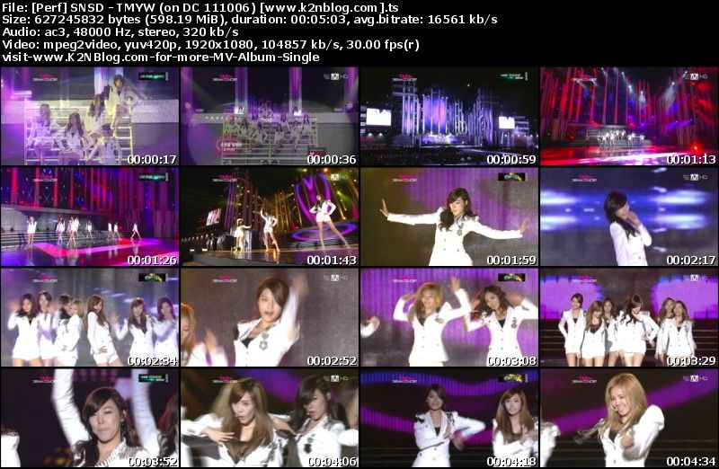 SNSD - Genie (Tell Me Your Wish) (on Dream Concert 111006) Thumbnail
